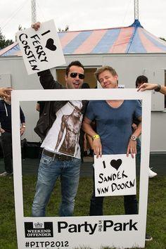 Ferry Corsten & Sander van Doorn love <3