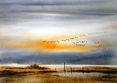 In Line Astern by Keith Nash