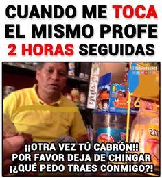 Cuando me toca el mismo profe 2 horas seguidas Para más imágenes graciosas visita: https://www.Huevadas.net #momos #memes #humor #chistes #viral #amor #huevadasnet