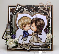 The Greeting Farm - Kissy Kissy by Miss NiceRoad - Cards and Paper Crafts at Splitcoaststampers