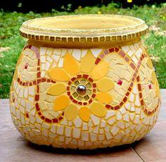 Sunflower big flower pot