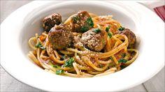 Kjøttboller med spagetti