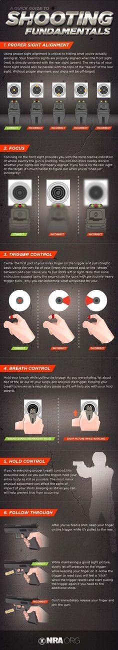 Shooting Fundamentals | Follow These Tips and Shoot Like a Pro | Skills And Techniques by Survival Life at survivallife.com/...