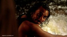 """6.06 """"Sundown"""" – Sayid sits beside the Temple spring, being """"claimed"""" and evil and hopeless. He has just killed both Dogen and Lennon. BEN: Sayid? Come on. I know a way out of here. There's still time. [Sayid smiles darkly.] SAYID: Not for me. [Ben fearfully runs from the room.]"""