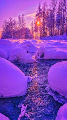 Winter Wallpaper, Sunset Wallpaper, Landscape Wallpaper, Scenery Wallpaper, Christmas Wallpaper, Wallpaper Backgrounds, Beautiful Nature Pictures, Beautiful Nature Wallpaper, Pretty Pictures