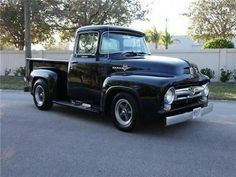 1956 Ford F 100 Pickup Truck. Old Trucks for Sale. Vintage, Classic and old trucks. Ford 56, 1956 Ford Truck, Ford Trucks, Pickup Trucks, Old Trucks For Sale, New Trucks, Chevy Truck Models, Chevy Hot Rod, F150 Truck