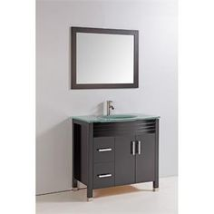 """Check out the Vanity Art WA6636 36"""" Solid Wood Sink Vanity with Mirror and Faucet - Vanity Top Included priced at $825.81 at Homeclick.com."""