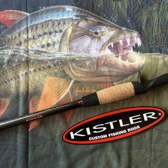 Custom Kistler for tigerfish. Tigerfish art by Craig Bertram Smith. Shirts from AfriG Adventures. Tiger Fish, Custom Fishing Rods, Gone Fishing, Island, Adventure, Shirts, Art, Art Background, Kunst