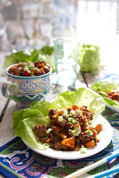 Thai Beef Lettuce Wraps Recipe | FamilyFreshCooking.com