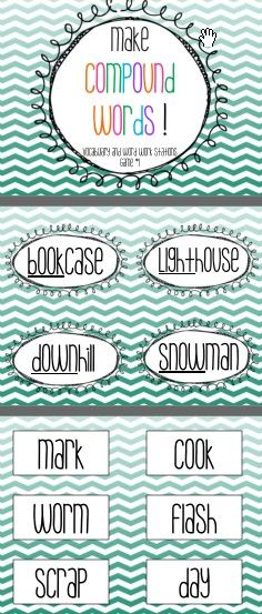 Making Compound Words Station Free PDF download