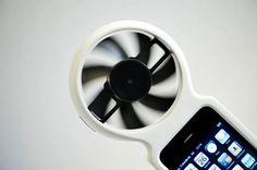 ECO GADGET: iFan, el cargador eólico para iPhone - VeoVerde