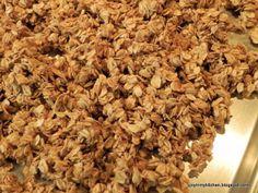 Finding Joy in My Kitchen: Applesauce Granola