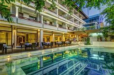 Swimming Pool - Maharani Beach Hotel