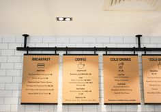 Menu Board Installation