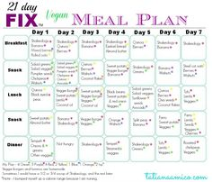 Click here to check out what the first week on 21 Day Fix looks like! Including a vegan meal plan and shopping guide #21dayfix #totalbodytransformation