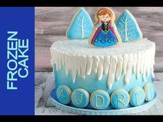 FROZEN CAKE TUTORIAL - YouTube