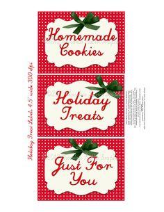 Noël étiquette étiquette rétro Vintage Digital par chocolaterabbit