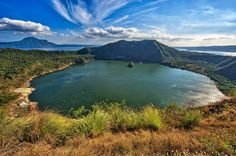 Taal Volcano Crater Lake Taal Volcano is a complex volcano, part of a chain of volcanoes along the western side of the edge of the island of Luzon