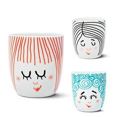 "These ""little women"" tumblers are adorable."