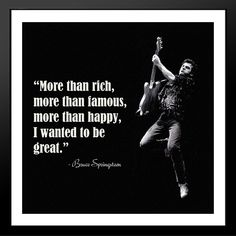 BRUCE SPRINGSTEEN QUOTES image quotes at BuzzQuotes.com