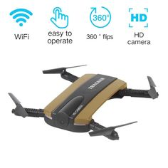 Royal-Infinity: Altitude Hold HD Camera WIFI Quadcopter Selfie Foldable Drone