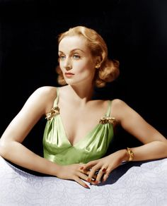"""""""Vigil In The Night"""", Carole Lombard, 1940 Colorize Glamour Hollywoodien, Vintage Glamour, Vintage Beauty, Vintage Fashion, 40s Fashion, Carole Lombard, Vintage Hollywood, Hollywood Glamour, Hollywood Stars"""