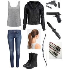"""""""Surviving the Zombie Apocalypse"""" by emmasierrra on Polyvore"""