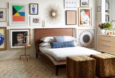 mirror bedroom onekingslane inspired