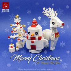 ~ Lego Mocs Holidays ~ Christmas ~ Merry Christmas 🎅⛄🎄🍺🍭🍹& Happy New Year 😍 Lego Christmas Ornaments, Lego Christmas Village, Noel Christmas, Merry Christmas And Happy New Year, Christmas Crafts For Kids, Winter Christmas, Lego Minecraft, Lego Disney, Legos