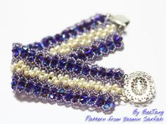 Lilac Lace Bracelet | Flickr - Photo Sharing!    In beadwork Feb/Mar 2013