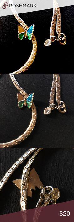 AVON Butterfly Necklace AVON Butterfly Necklace Avon Jewelry Necklaces