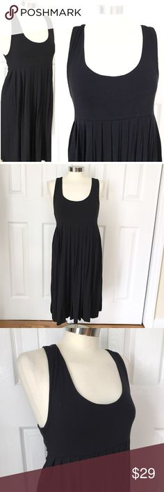 NWT Pink Rose Black Tank Dress Black sleeveless dress, scoop neck. Pink Rose brand size large. Some stretch to fabric.  New with tags. Also selling in blue..see separate listing and bundle for a discount! Causal sun summer dress. Cute with sandals or wedges! Stretch to fabric 95% viscose 5% spandex. Pink Rose Dresses