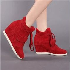 d7b0a197 New Arrival Genuine Leather Wedge Heel Ankle Boots Zapatos De Moda  Plataforma, Zapatos Deportivos,