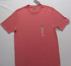 The Foundry Supply Men T Shirt LT Pink Crew Short Sleeves Cotton Polyester 1709 #TheFoundrySupply #BasicTee