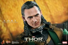 PIN IT TO WIN IT!!! Repin this Hot Toys Loki Sixth Scale Figure for a chance to win this SOLD OUT piece!