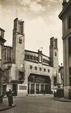 Postales Antiguas de Andalucía: Teatro Villamarta de Jerez de la Frontera (Cádiz)