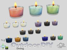 BuffSumm's DIY Three Candles