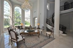 Formal living room, open to Foyer & Stair Hall...