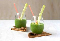 Green detox smoothie for weight loss.