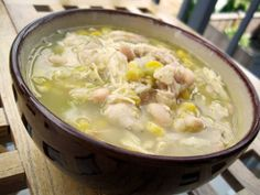 Easy Peasy White Chicken Chili   FaveSouthernRecipes.com