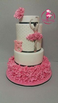 Cake ballerina - Cake by Daniela Mistretta