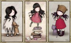Santoro London e il suo mondo incantato Hallo Kitty, Santoro London, Cute Cartoon Wallpapers, Digi Stamps, Copics, Book Of Shadows, Cute Dolls, Amigurumi Doll, Pretty Pictures