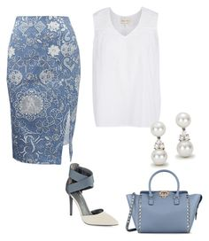 """chics"" by mchlap on Polyvore featuring Altuzarra, Enzo Angiolini, Tiffany & Co. and Valentino"
