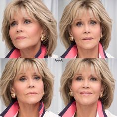 Jane Fonda Hair - hair styles for short hair - Jane Fonda Hair Jane Fonda Hair - Jane Fonda Hairstyles, Bob Hairstyles For Fine Hair, Mom Hairstyles, Hairstyles For Over 60, Haircuts, Short Hair With Layers, Layered Hair, Short Hair Cuts, Medium Hair Styles