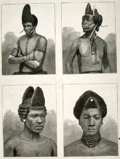 5 Print Zulu Dandies Hair Styles Hairstyles South Africa 1879 Old Original African Hairstyles, Afro Hairstyles, Vintage Hairstyles, Black Hairstyles, Hairstyles Pictures, Updo Hairstyle, Wedding Hairstyles, Natural Hairstyles, African Culture