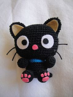 Chococat Amigurumi Always been my favorite<3