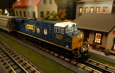 Buy It Now or Find It Locally http://mthtrains.com/30-20314-1 Now arriving the MTH RailKIng O Gauge CSX ES44AC item 30-20314-1. The RailKing ES44AC operates on O-31 Curves and this CSX model has a MSRP of $329.95. Ask your MTH Dealer about a RailKIng O Gauge ES44AC today.