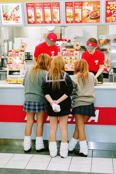 Fashionable Fast Foodies . Tokyo