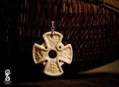 Bone pendant by GoodOrganicJewelry on Etsy