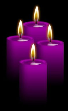 ☆ 4 Purple Canldes: Use for Ancient wisdom, the third eye, psychic powers, meditation, spirituality, success, confidence, hidden knowledge, protection, divination, All forms of expansion, expands what you already have, spiritual protection, power, wisdom, healing, recognition, enhances psychic ability, Recognition in work, contact with spirit world . Also use with white candle to neutralize effects of karma and ego .. By ~Blood-Huntress ☆